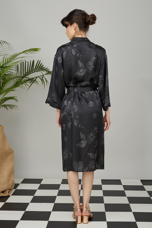 kimono black 3